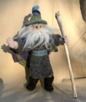 Felted Wizard by JessieDockins