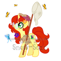 Mystery Evolving Pony Adoptable-butterfly 2nd evo by Sakuyamon