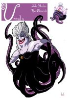 Ursula in colors by stephgallaishob
