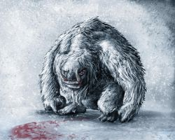 Beware the Yeti by MisterMikeA