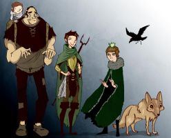 The Fellowship Of The Bran by Sir-Heartsalot