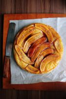 Banana Tarte Tatin by sasQuat-ch