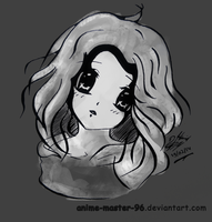Portrait 3 - Anime Version - shaded by anime-master-96