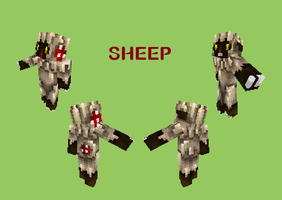 Minecraft-Sheep by MC-Dread