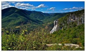 Hierve el agua valley by Phil-67