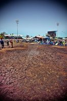 Jazz Fest Mud by Ray-Devlin