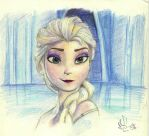 Frozen - The cold never bother me anyway by Lightsoul-96