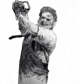Texas Chainsaw WIP #2 by Hephaestus7