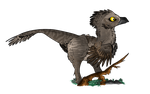 Lil' Raptor by ToxicKittyCat