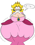 Embarrassed Expanded Peach by HyperFlannel