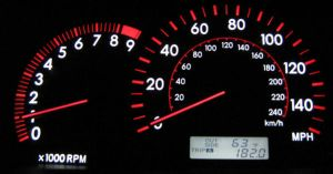 Toyota Corolla Gauge Cluster by gloomknight
