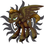 MLP: SPN Crossover: Dean Winchester V2 by Mychelle