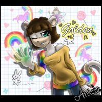 .::Rainbow Golden::. by Magic-Ray
