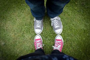 Day 14 - The Converse Kids by ninaheather