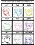Color meme - Icchi's favorites by ShirayukiHayame