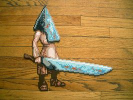 Big Pyramid Head Bead Sprite by SerenaAzureth