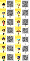 Tomodachi QR Codes! by Piranhartist