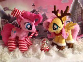 Christmas photo by My-Little-Plush