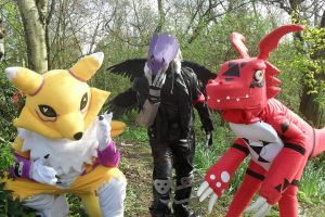 Digimon Tamers Group by KyoukaKami