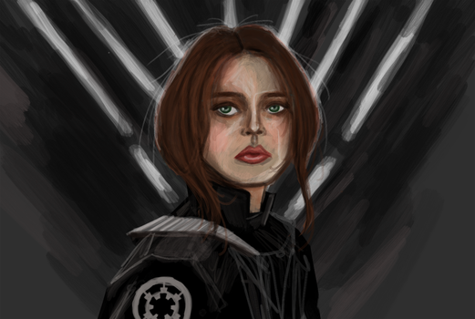 Jyn Erso by TheBrokenMasterpiece