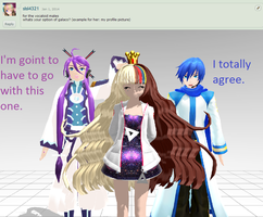Question 2 for the Vocaloid guys by LegolasGimli