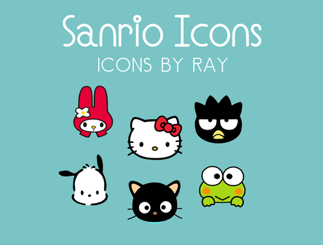 Sanrio Icons by Ray by Raiiy