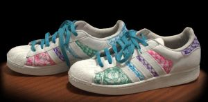 Refreshed Design, Used Adidas Superstar II Dragon by ginseng