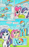 Two Rainbow Manes - page 1 by kittyhawk-contrail