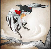 Harpy_Hear my wings caressing the wind by Kamzeia-MS