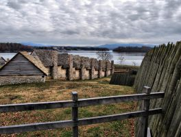 Fort Loudoun, Barracks View by alimuse
