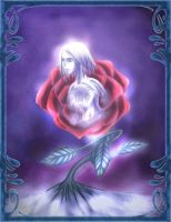 LK - Frozen Rose - Colored by marineblue