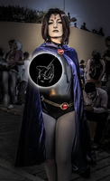 Raven ~ Teen Titans: The Gem by malacoderma