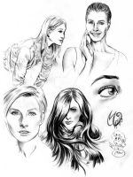 Female Faces training by MatiasSoto