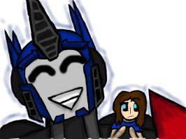 Optimus and Lauren... Body swap. by OnyxLeaderRogue-177