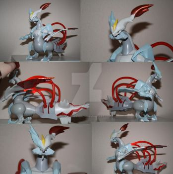 White Kyurem with sound and light by Fantasy-Girl19
