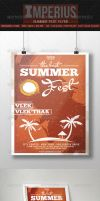 Summer Fest - V1 - Flyer Template - Imperius by ImperiusDesigns