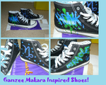 Gamzee shoes by BewareOfTheMonkey