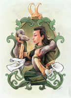 LOKI x HP (crossover) by ChantDeLaCorneille