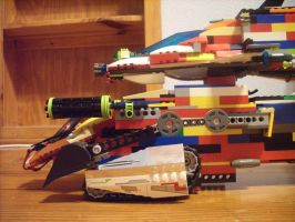 LEGO monster ship pan 1 by CanadaLeaf7