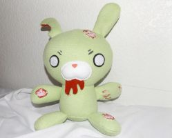 Zombie Bunny by CL-Pinkskull