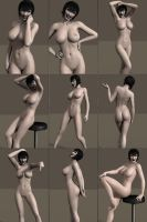 Mavis' Body Study by ExGemini