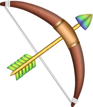 ALTTP Bow and Arrow by BLUEamnesiac