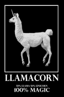 Llamacorn by Unicorns-And-Llamas