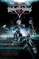 Kingdom Hearts 3D Riku and Sora, TRON. by LumenArtist
