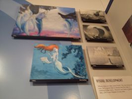original paintings for ariel by vienna2000