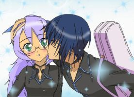 A Kiss from Ikuto by Celia-Alva