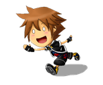 Sora - Hi guys!! by HikariNOSora