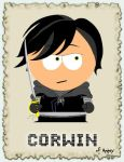 Corwin, Prince of Amber by madnesslab