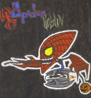 Spider Goblin by CaribuDude