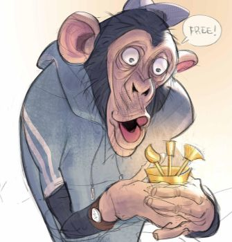 Share the monkey by Ramonn90